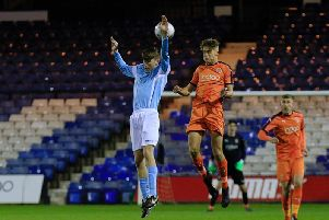 Drew Richardson scored Town's only goal of the game on Tuesday night
