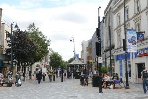 There were 141 reports of violent crime and sexual offences in Luton town centre.