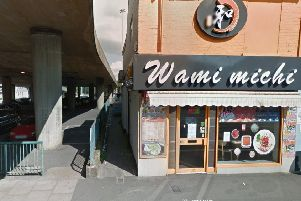 The incident happened outside Wamimichi Noodle Bar on Park Street, Luton. Photo from Google Maps