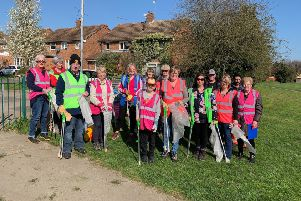 Friends of Wandon Recreation Park took part in The Great British Spring Clean