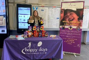 Thameslink collected Easter Eggs for Luton charity