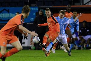 Jake Peck was part of the Hatters youth team last season