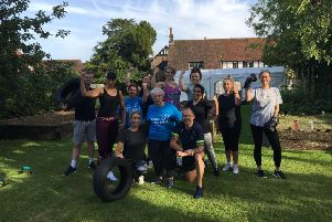 Summer boot camp to get fit at Little Bramingham Farm care home