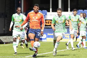 Striker Isaac Vassell has been linked with a return to Kenilworth Road