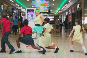 Active August challenge at The Mall Luton