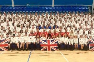 Members of Team GB