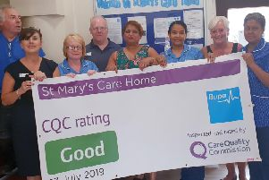 St Mary's Care Home in Luton has been rated as 'good' by CQC