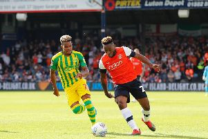 Kazenga LuaLua takes on his man at the weekend