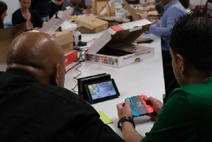 The DSH programme utilising the Nintendo Switch