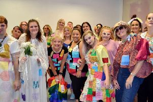 Harlington students took part in special fashion show on World Mental Health Day