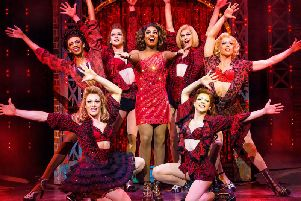 A story of passion, drive and friendship: Kinky Boots. Picture: Helen Maybanks