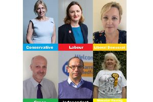 Six candidates are contesting Mid Beds