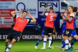 Town defender Matty Pearson is about to become a dad