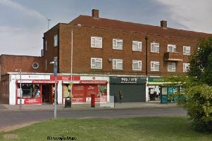 The assault and robbery outside happened outside the Post Office, The Green in Hockwell Ring. Photo from Google Maps