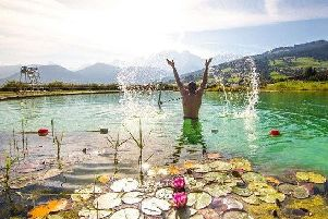 Sir Edward Leigh has issued a plea for a natural swimming pool, such as this one in Combloux, in France. EMN-180723-160625001