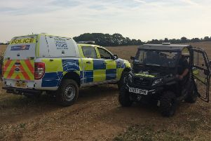 Rural crime vehicles used by Lincolnshire Police. EMN-180908-142611001