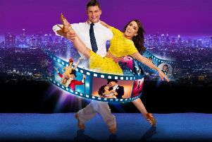 Aljaz Skorjanec and Janette Manrara take to The Baths Hall stage EMN-190301-120619001