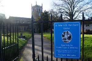 St Peter and St Paul Church at Caistor