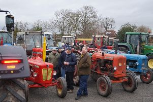 Middle Rasen Tractor Road Run