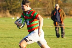 Josh White began and ended Market Rasen's scoring with a brace of tries Picture courtesy of Jon Staves EMN-190804-090328002