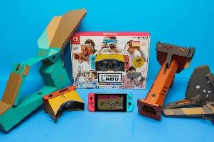 The new Nintendo Labo VR kit