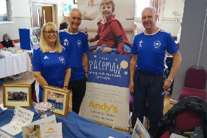 Promoting the group at Caistor Easter Fair also raised more than �70 in support of  Andy's Children's Hospice EMN-190423-094052001
