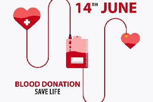 World Blood Donor Day (June 14).