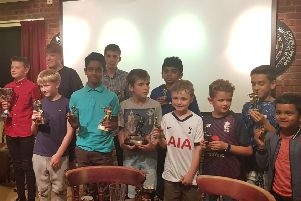 Caistor Cricket Club junior presentation evening. Picture: Carolyn France EMN-190923-164726002