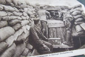 Major Ellwood's diary will tell the story of trench warfare in WW1