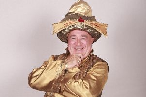 BRENDAN SHEERIN stars as the Emperor Confucius Pong in Aladdin