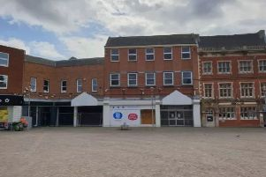 The town centre site of the proposed cinema complex
