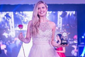 Ella Grace Bayley, the reigning Miss Lincolnshire.