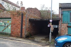 The site in Mill Street
