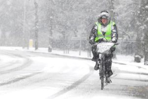 Heavy snow is forecast for Melton