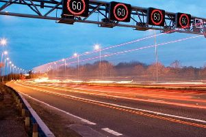 Highways England are reviewing speed limits around roadworks