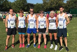 The Striders at the final leg of the Leicestershire Road Running League EMN-180509-091559002