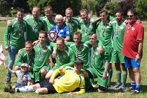 Wrighty's XI claimed the Melton Sunday League Knockout Cup in what proved to be the league's swansong. EMN-180609-182041002