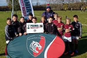 Melton RFC U10s will take on teams from across the country at Welford Road EMN-181120-142110002