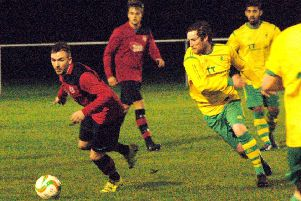 Jack Baker and David Hazeldine have both played for Melton and Holwell in different spells EMN-180612-163424002