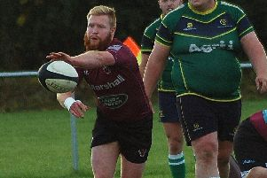 Duncan Lennox made a welcome return to the depleted First XV after a long spell out with concussion EMN-181218-145217002