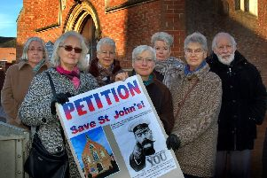 Worshippers who fought a successful campaign to save St John the Baptist Roman Catholic Church in Melton from closure EMN-190801-165612001