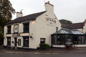 The Tap and Run pub at Upper Broughton PHOTO: Tim Williams