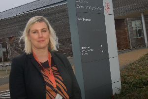 Lara Hall, headteacher at John Ferneley College, Melton EMN-190130-142015001