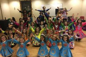Irish dancers from Bottesford PHOTO: Supplied