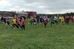 A total of 237 pupils raced at the area schools cross country championships EMN-190319-131430002