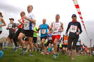 A total of 386 runners completed last year's Belvoir Half Marathon EMN-190319-133559002