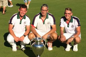 Hope (left) and Rodgers (centre) tasted national success outdoors last summer with the county squad EMN-190320-124742002