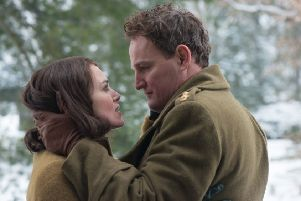 Keira Knightley as Rachael Morgan and Jason Clarke as Lewis Morgan PHOTO: PA Photo/Twentieth Century Fox Film Corporation/David Appleby
