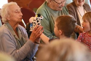 Special project between Melton nursery and care home showcased in new film PHOTO: Supplied