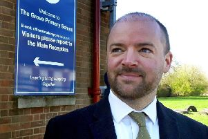Steve Nash, headteacher at The Grove Primary School in Melton EMN-190107-165408001